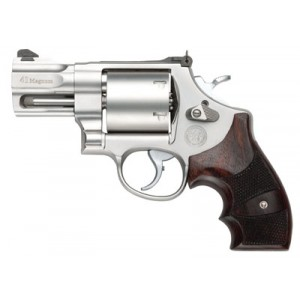 """Smith & Wesson 657 .41 Remington Magnum 6-Shot 2.62"""" Revolver in Matte Stainless - 170134"""