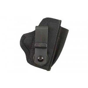 Desantis Gunhide M42 Tuck This II Right-Hand Belt Holster for Small Revolvers in Black Leather -