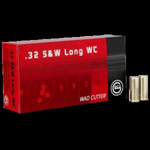 Ruag Ammotec Usa Inc .32 S&W Long Wadcutter, 100 Grain (50 Rounds) - 2127601