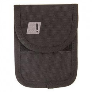 Under the Radar Cell Phone Pouch Color: Black