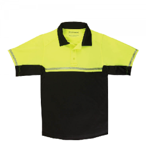 5.11 Tactical Bike Patrol Men's Short Sleeve Polo in Reflective Yellow - Large