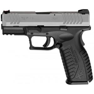 "Springfield XDM 9mm 19+1 3.8"" Pistol in Black/Stainless Steel - XDM9389STHC"