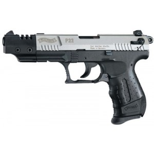 "Walther P22.22 Long Rifle 10+1 5"" Pistol in Black - WAN22006"