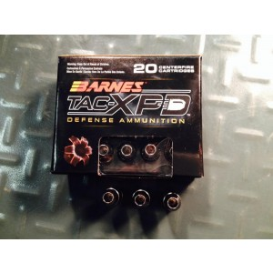 Barnes Bullets TAC-XPD .380 ACP Barnes TAC-XPD Defense Hollow Point, 80 Grain (20 Rounds) - 21552