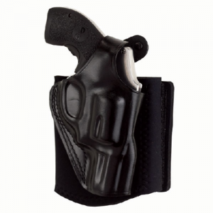 """Galco International Ankle Glove Left-Hand Ankle Holster for Charter Arms Undercover in Black (2"""") - AG161B"""