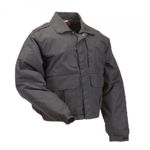 5.11 Tactical Double Duty Men's Full Zip Jacket in Black - 4X-Large