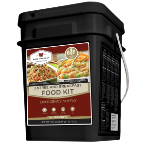 Wise Foods WFG01184 Grab N Go Gluten Free Dehydrated/Freeze Dried