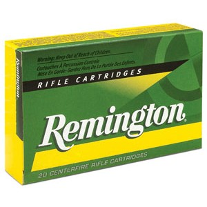 Remington Standard .223 Remington/5.56 NATO Pointed Soft Point, 55 Grain (20 Rounds) - R223R1