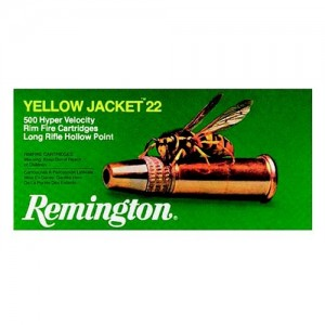 Remington Yellow Jacket .22 Long Rifle Hollow Point, 33 Grain (100 Rounds) - 1700