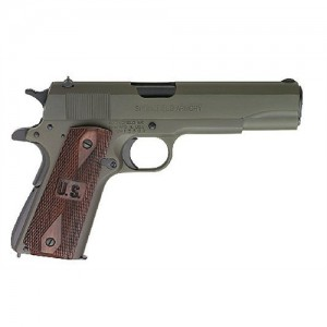 """Springfield 1911 GI .45 ACP 7+1 5"""" 1911 in Olive Drab - PW9609LP"""