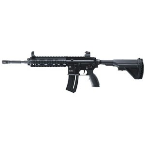 """Walther USA 416 .22 Long Rifle 10-Round 16.1"""" Semi-Automatic Rifle in Black - 2245210"""