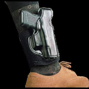 Desantis Gunhide Die Hard Right-Hand Ankle Holster for Glock 26, 27 in Black - 014PCE1Z0