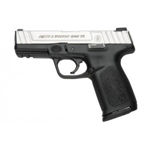 "Smith & Wesson SD40 .40 S&W 14+1 4"" Pistol in Stainless Slide/Black Frame (VE) - 223400"