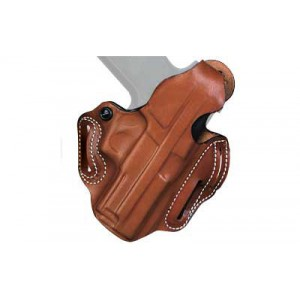 Desantis Gunhide 1 Thumb Break Scabbard Right-Hand Belt Holster for Smith & Wesson M&P Shield in Leather - 001TA5EZ0
