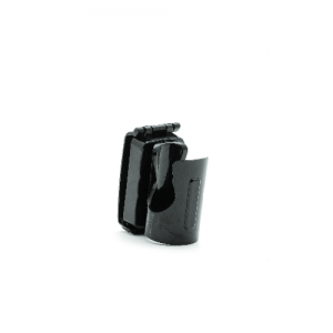 PR-24 Front Draw Swivel  Made from durable polycarbonate, all Front Draw holders feature a molded tension spring for baton security. The design is comfortable to wear and offers a quick draw from any position.The holder rotates in 360 degrees and locks in