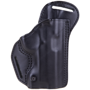 """Blackhawk Check-Six Right-Hand Belt Holster for Springfield XD Compact in Black (4"""") - 420708BKR"""