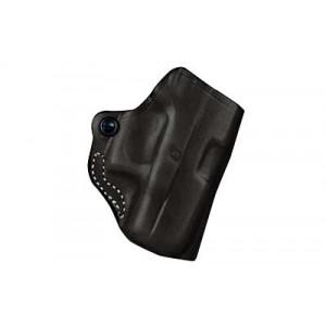 "Desantis Gunhide 19 Mini Scabbard Right-Hand Belt Holster for Smith & Wesson Bodyguard .38 in Black Leather (2"") - 019BAU8Z0"