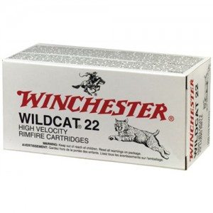 Winchester Wildcat .22 Long Rifle Lead Round Nose, 40 Grain (50 Rounds) - WW22LR