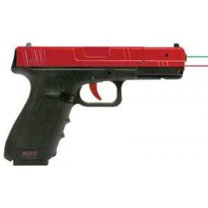 Nextlevel Training Pro Sirt Pistol, Red Metal Slide With Red Trigger, Take-up And Shot Indicating Lasers, Red/black Finish 017-s2g000