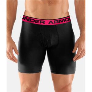 "Under Armour O-Series 6"" Men's Underwear in Black - 2X-Large"