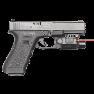 """Viridian X5LR Universal Full Size Light Red Laser 5mW .50""""@50ft"""