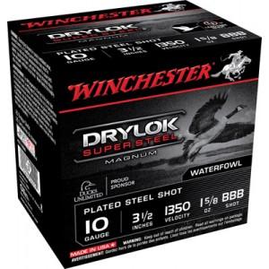 "Winchester Drylok Waterfowl .10 Gauge (3.5"") BBB Shot Steel (250-Rounds) - XSC10BBB"