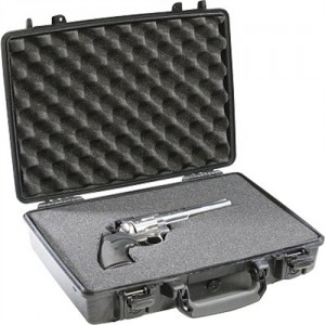 Pelican Hard Case Watertight/Crushproof/Pressure Valve/Black Finish 1470