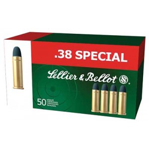 Magtech Ammunition .38 Special Lead Round Nose, 158 Grain (50 Rounds) - SB38A