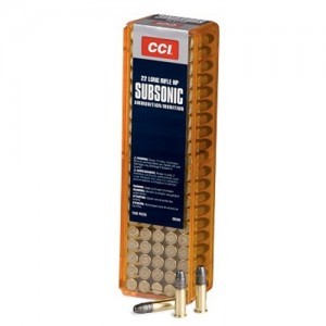 CCI Speer Small Game .22 Long Rifle Hollow Point, 40 Grain (100 Rounds) - 56