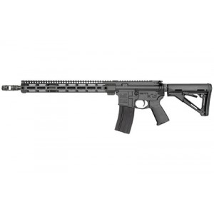 "Midwest Industries Semi-automatic Rifle, 223 Wylde, 16"" Barrel, Matte Black Finish, Magpul Ctr Stock, 15"" M-lok Handguard, Mb4 Muzzle Brake, 30rd Mi-fn16m15"