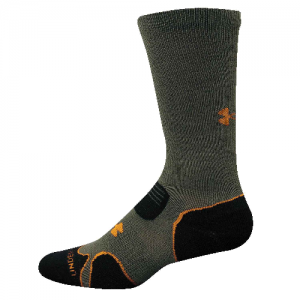UA Hitch Lite Cushion Boot Socks Color: Sage/Blast Size: Large