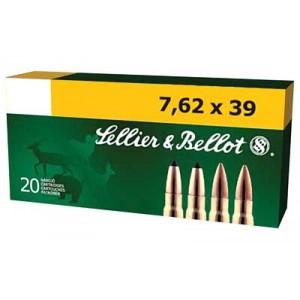 Magtech Ammunition Training 7.62X39 Full Metal Jacket, 123 Grain (20 Rounds) - SB76239A