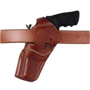 "Galco International Dual Action Outdoorsman Right-Hand Belt Holster for Smith & Wesson X-Frame in Tan (4"") - DAO170"