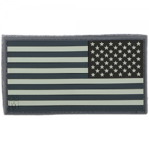 Reverse USA Flag Patch Large