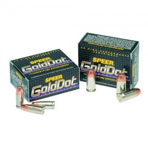 CCI Speer Gold Dot .40 S&W Gold Dot Hollow Point, 180 Grain (20 Rounds) - 23974