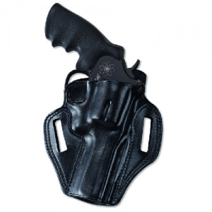 """Galco International Combat Master Right-Hand Belt Holster for Ruger Security Six in Black (4"""") - CM114B"""