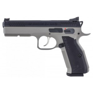 "CZ 75 Shadow II 9mm 17+1 4.8"" Pistol in Urban Grey Polycoat- 91255"