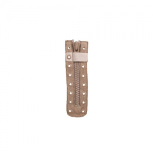 Boot Zippers, Coyote Tan, 8 Eyelet