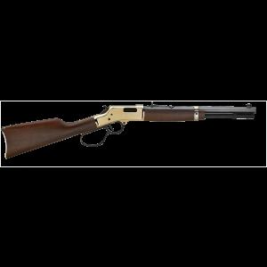 """Henry H006MR41 Big Boy Carbine Lever 41 Magnum 16.5"""" 7+1 American Walnut Stk Blued Barrel/Brass Receiver"""