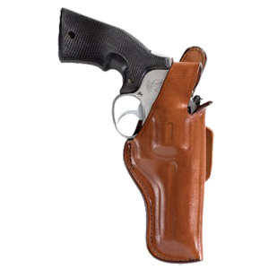 "Bianchi 10136 5 Thumbsnap 6"" Barrel Colt; Ruger; S&W and Similar L Frame Leather Tan - 10136"