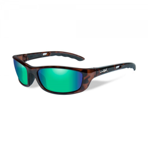 Wiley X - P-17 Glasses Lens Color / Frame Color: Polarized Bronze / Gloss Demi