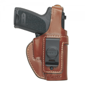 160 Spring Special Executive Holster Color: Tan Gun: Smith & Wesson M&P .40 Hand: Right - H160TPRU-MP 40