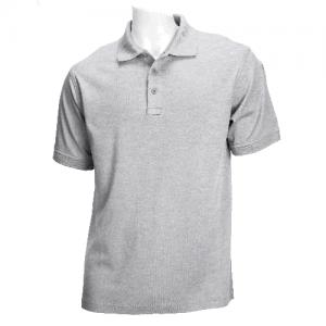 5.11 Tactical Tactical Men's Short Sleeve Polo in Heather Grey - Medium