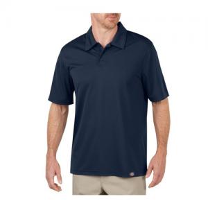Dickies Industrial Men's Short Sleeve Polo in Dark Navy - Large