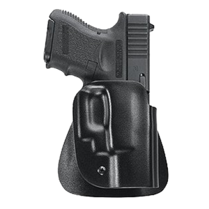 Uncle Mikes 5423-2 Kydex Paddle Open Top 23 Black Kydex - 54232