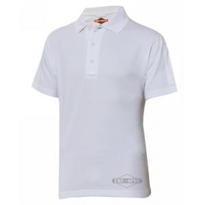 Tru Spec 24-7 Men's Short Sleeve Polo in Heather Grey - Large