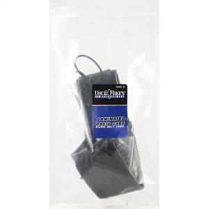 MIRAGE Basketweave Size 4 Lami  Radio Case Mirage BW Black Size 4, w/Swivel Belt Loop, Card