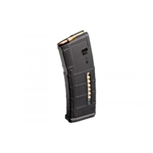Magpul Industries Pmag Magazine, 223 Rem/556nato, 30rd, Fits Ar Rifles,  With Window, Black Finish Mag570-blk