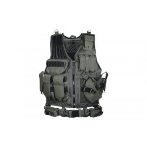 Leapers, Inc. - UTG Tactical Vest in Black - Most Size Fits Most
