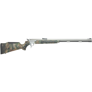 "T/C Arms 28205743 Break Open 50 Black Powder 28"" Adjustable Fiber Optic 209 Primer FlexTech Realtree All Purpose Stk"